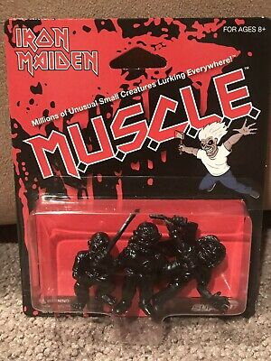 Iron Maiden Muscle Eddie Figures*trooper*piece Of Mind*killers* Red&black *new*
