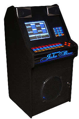 Unique One Of A Kind Vmj Digital Touch Screen Custom Built Jukebox