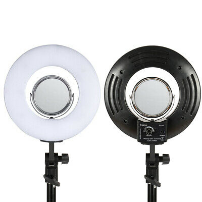 "8"" LED Dimmable Photography Mini Ring Light Light Photo Lighting US Standard"