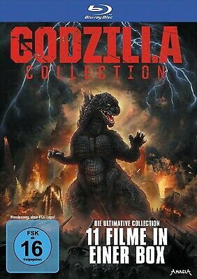 Godzilla/+ - Godzilla 11-Disc Collector's Ed.limited Softbox  11 Blu-Ray New