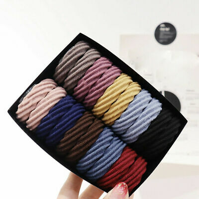 20X Girl Elastic Hair Ties Band Ropes Ring Ponytail Holder Accessories Scrunchie
