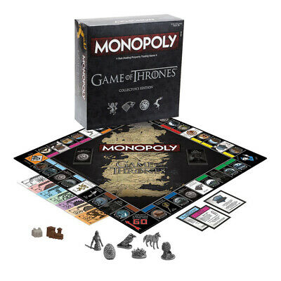NEW Games Game of Thrones Monopoly