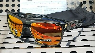 5acb2ee1d2 New Oakley CROSSRANGE Sunglasses 9361-1257 Grey Smoke w  Prizm Ruby Iridium