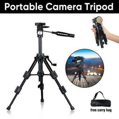 Portable Travel Camera Tripod Table Top Photography Mini Stand Holder DSLR Video
