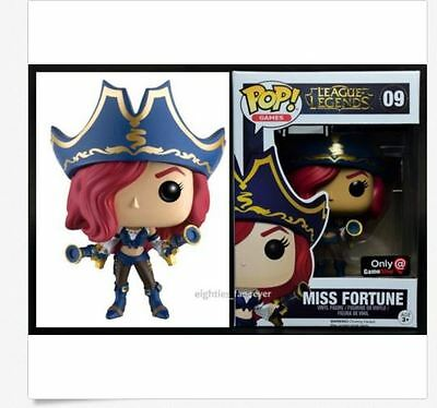 Funko POP! League of Legends Miss Fortune 09 Game Stop Exclusive!