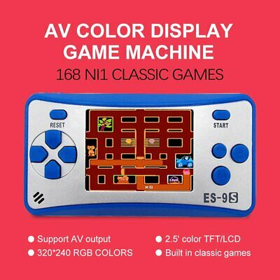 PORTABLE GAME PLAYER 16-bit Simulator Game Machine Multi-function