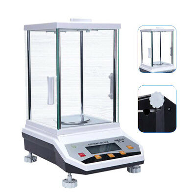 220V High Accuracy Lab Analytical Balance Digital Scale 100g/200/300/500g*0.001g