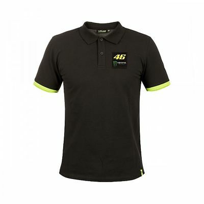 2018 Valentino Rossi Moto GP VR 46 MONSTER Dual Polo Shirt Mens OFFICIAL *SALE*