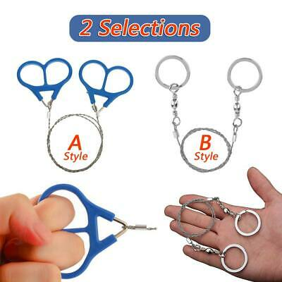 Pocket Steel Wire Hand Saw Gear Chain Outdoor Camping Emergency Survival Tools