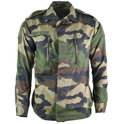 cf83fca8ebc Genuine French army F2 combat jacket fatigue CE camo military issue surplus  NEW