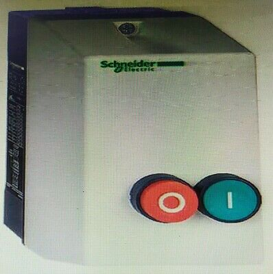 Schneider TESYS LE ENCLOSED DOL STARTER 12A AC Coil- 24V, 240V Or 415V