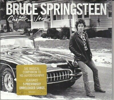CD ♫ Audio BRUCE SPRINGSTEEN • CHAPTER AND VERSE nuovo sigillato digipack