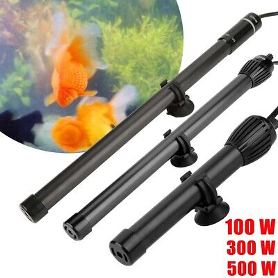 Digital Aquarium Heater Submersible Fish Tank Tropical Thermostat 100/300/500 W