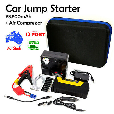68800mAh Car Jump Starter 12v with Battery charger Power bank AU