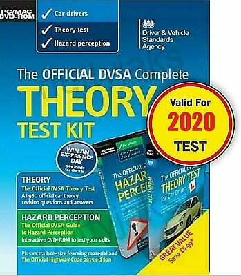 Official DVSA Complete Theory Test Kit for PC and Mac. Valid 2019 Tests