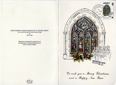 Jersey - Merry Xmas & Happy New Year (Greeting Card) 1983