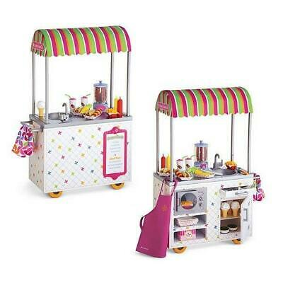 """New Lot 2pcs 18/"""" American Girl Doll Campus Snack Cart replacement tongs toys"""