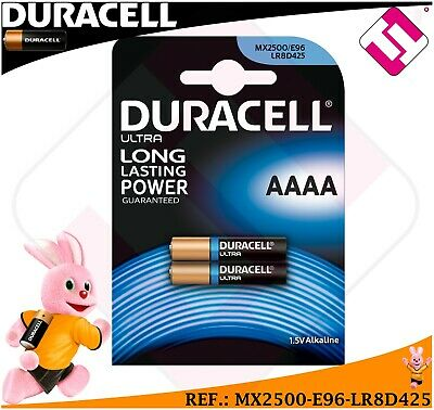 Lot De Pile 2 Unités Duracell Mx2500 E96 Lr8D425 Tension 1,5 Volts Alcaline