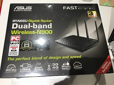NEW ASUS rt n66u n900 Dual Band