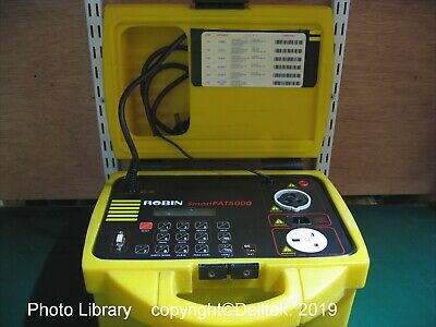 Robin PAT5000 Pat Tester : Optional Calibration Warranty Support Training Course