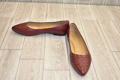 best selling shop hot products TROTTERS ESTEE WOVEN Flats - Women's Size 11M, Dark Red - $35.73 ...
