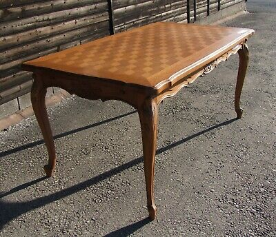 Louis XV Style French Carved Oak Extending Dining Table - (CON1005)