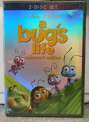 A Bugs Life (DVD 2003 2-Disc Set Collectors Edt) RARE DISNEY W BUENA STAMP NEW