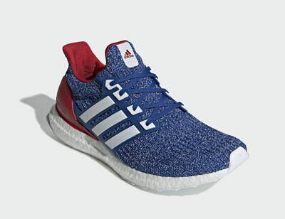 3d379b6c6ae  EE3704  MEN S ADIDAS Ultra Boost USA Collegiate Royal White-Power Red