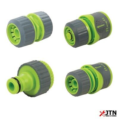 Universal Soft Grip Garden Watering Hose Pipe Tap Plastic Connector Adaptor