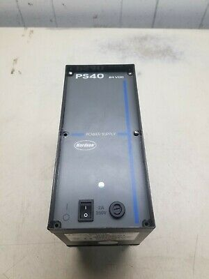 Nordson 131739F Power Supply, PS40, 24VDC.
