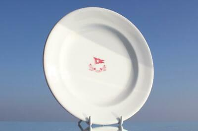 White Star Line Rms Olympic Titanic Era Pattern 3Rd Cl Dinner Plate A/F 1920'S