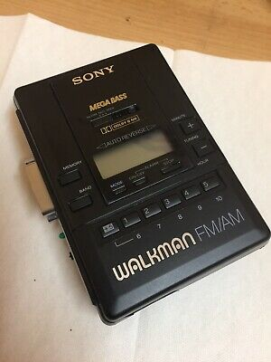 SONY RADIO CASSETTE PLAYER VINTAGE WORKING ORDER OLD SCHOOL 80's
