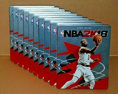 NBA 2K18 - 10 x STEELBOOK STEEL BOX STEELCASE WITHOUT GAME - FREE DELIVERY