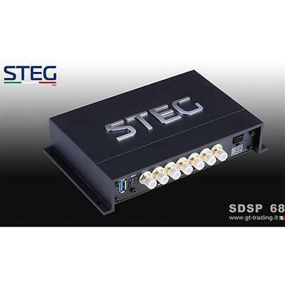 STEG SDSP68 Processore Digitale DSP con BLUETOOTH a 6 ingressi e 8 uscite