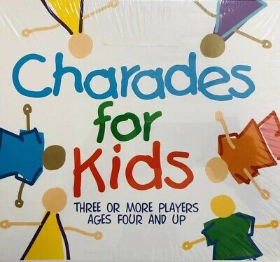 Paul Lamond Games 5012822058300 Charades For Kids Game Board & Traditional Games