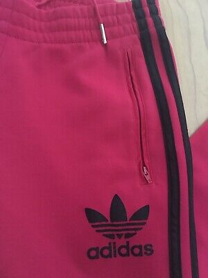 adidas Originals Trefoil Womens Track Pants Trousers AB1994 Florera Farm  size 8 Clothes, Shoes & Accessories