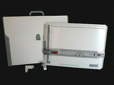Rotring Profil Portable Art Drawing Drafting Table Board A3 w/ Carrying Case