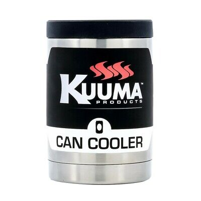 Kuuma Products 58423 Stainless Steel Can Cooler 12 Oz Double Wall Insulation
