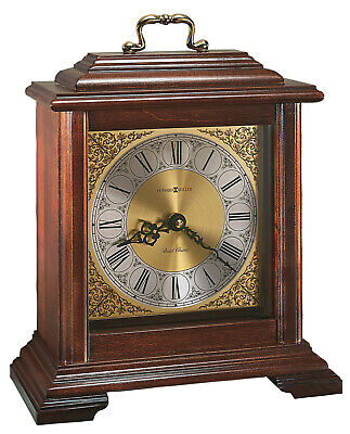"612-481   Howard Miller  Traditionalbracket Clock ""Medford"" With A Cherry Finish"