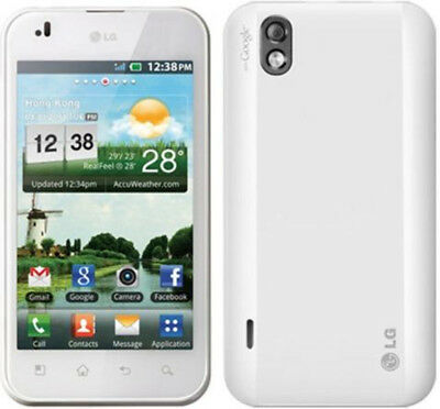 LG OPTIMUS P970 White Unlocked Smartphone z