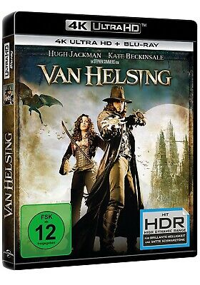 Van Helsing - 4K Uhd (Hugh Jackman, Kate Beckinsale,...) Ultra Hd Blu-Ray New