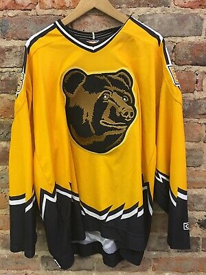 VIntage 90 s CCM Boston Bruins Jersey Pooh Bear Alternate Third Men XXL 7e6405734