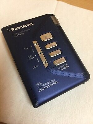 walkman PANASONIC CASSETTE PLAYER WORKING VINTAGE