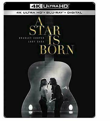 A Star Is Born - Exclusive Steelbook [Blu-ray+Blu-ray 4K] New and Sealed!!