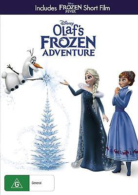 Olaf's Frozen Adventure ; New Sealed Australian Release Region 4