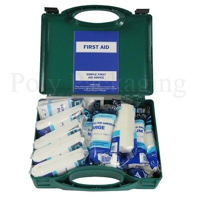 HSE Approved First Aid Kits (1-10 Person) Various Quantities
