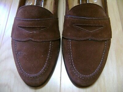320556f04c6 Men s Shoes ROMANO MARTEGANI Strap Loafer Sz 8.5 M Brown Suede MADE IN  ITALY!