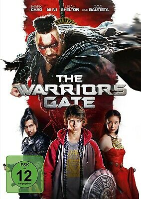 WARRIORS GATE/ Uriah Shelton, Dave Bautista, Sienna Guillory, BLU-RAY NEW