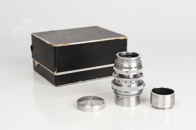 Cine-Kodak Telephoto F-4,5 3 Inches 75mm Kodak S Mount + adapter M Mount