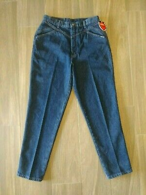 30137983c9c Rocky Mountain Womens Jeans Size 15 16 Med NWT Relaxed Long Rise Dark Wash  VTG